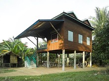 Khmer house in Cambodia