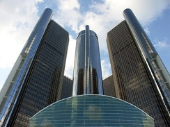 GM World Headquarters in Detroit