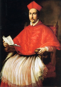 Francesco Barberini in 1624, shortly after his uncle, Pope Urban VIII, made him a cardinal.