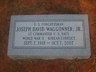 Grave of Joe D. Waggonner Jr.