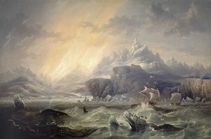 HMS Erebus and Terror in the Antarctic by John Wilson Carmichael.jpg