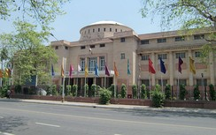 The National Museum in New Delhi is one of the largest museums in India.