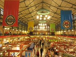 Indianapolis City Market was founded in 1821.