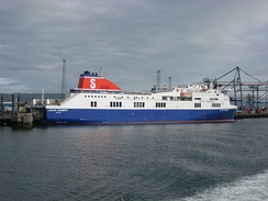 MS Stena Lagan as Lagan Seaways in Belfast