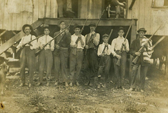 Miners in Eskdale, West Virginia (1913)