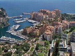 Fontvieille and its new harbour
