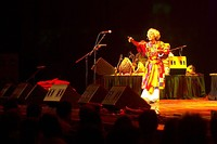 Paban Das Baul at Nine Lives concert, 2009.jpg