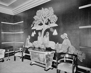 Women's Smoking Room at the Paramount Theatre, Oakland. Timothy L. Pflueger, architect, 1931