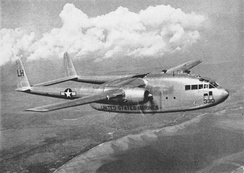 A USMC R4Q-1 of VMR-252 in 1950.