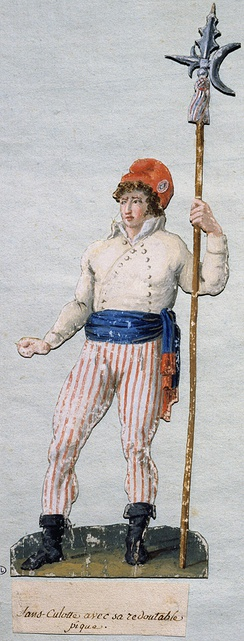 A sans-culotte with his pike