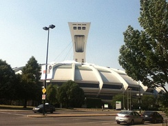 The site of World Bowl '92 was the Olympic Stadium (Montreal)