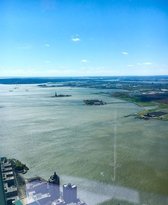 Statue of Liberty as viewed from the observatory