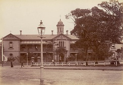 St Vincent's Hospital, Sydney in the 1900s. The Christian churches have played an integral role in the development and provision of welfare services in Australia.