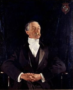 The 6th Earl Spencer; Vice-Chamberlain of the Household 1892–1895