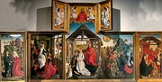Rogier van der Weyden, Polyptych with the Nativity, c. 1450