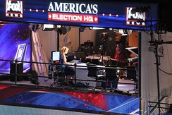 Then-Fox anchor Megyn Kelly covering the 2012 Democratic National Convention