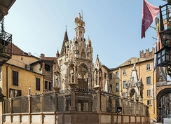 The Arche scaligere, tombs of the ancient lords of Verona