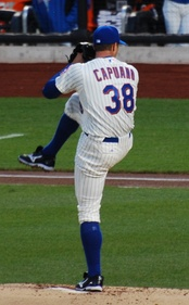 The Dodgers signed Chris Capuano as a free agent during the offseason