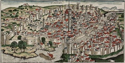 View of Florence by Hartmann Schedel, published in 1493