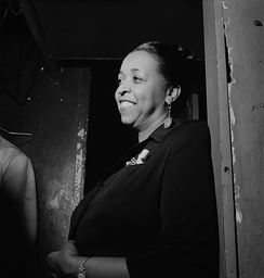 "Ethel Waters sang ""Stormy Weather"" at the Cotton Club."