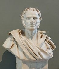 Bust of the painter (1827) by Jean-Baptiste Roman, Louvre