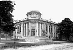 The original Carnegie library in Guelph.