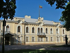 Presidential Palace in Kaunas, where the last meeting of the independent Government of Lithuania took place on the night of 14 June 1940