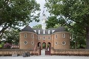 Reconstruction of the first Williamsburg capitol