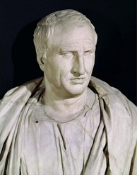 A bust of Cicero, Capitoline Museums, Rome