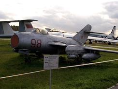MiG-15bis at Monino Aircraft Museum