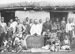 North German missionary school in Togo, 1899