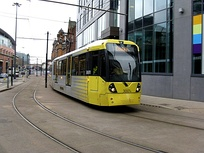 The Manchester Metrolink will have the largest tram system in the UK once expansion is complete.[68]