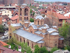 Our Lady of Ljeviš in Prizren, founded by Serbian King Stefan Milutin (1282-1321)