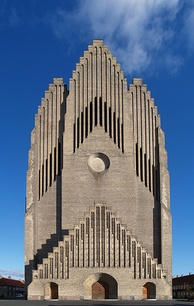 Grundtvig's Church in Copenhagen, an example of expressionist architecture