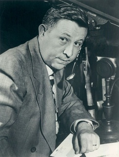 Russ Hodges in 1955