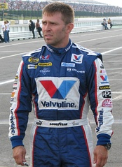 Scott Riggs, the most successful driver in NASCAR that raced in NTS.
