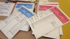 2016 presidential primary election ballots in Massachusetts