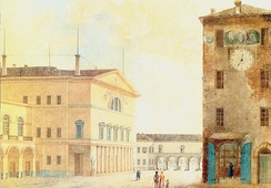 The Nuovo Teatro Ducale in 1829