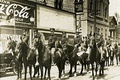 Washington National Guard cavalry pictured in Tacoma, Washington in 1907.