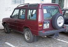 Pre-facelift 1992 Tdi three-door (Portugal)