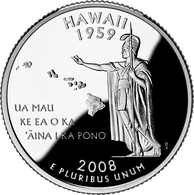Ua Mau ke Ea o ka ʻĀina i ka Pono, the motto of Hawaii on its state quarter