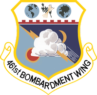 Emblem of the 461st Bombardment Wing, 1956–1958