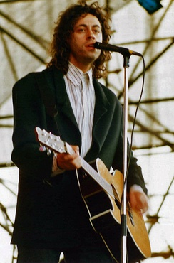 Bob Geldof, who led the Live Aid event in 1985