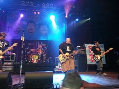 Bowling for Soup performing in 2013