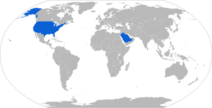 Map with Bradley operators in blue