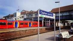 Clapham Junction in London is the busiest station in terms of rail traffic with an average of one train every 20 seconds at peak times.