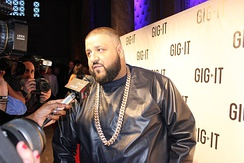 American radio personality and record producer DJ Khaled, of Palestinian descent