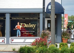 Daisy Airgun Museum in downtown Rogers