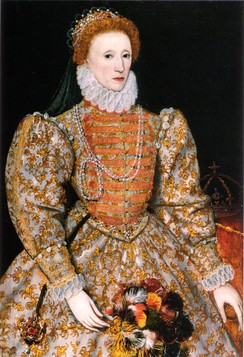 Queen Elizabeth I of England reached a moderate religious settlement.