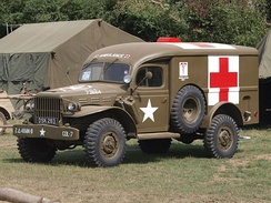 1943 WC-54 Ambulance